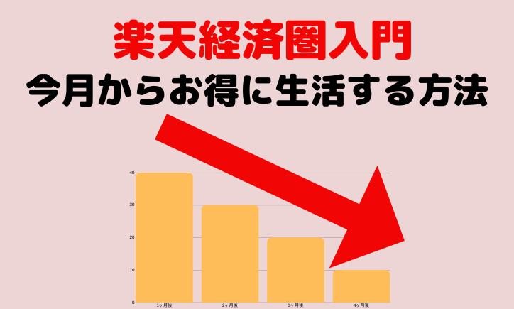 楽天経済圏の活用術入門!お得に生活を送る方法を1から解説!
