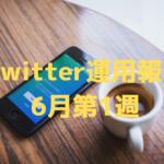 Twitter初心者のフォロワー推移・データ報告(6月1週・5週目)