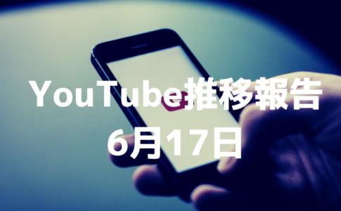 YouTube初心者のチャンネル登録者数推移と現状分析(2020年6月17日)